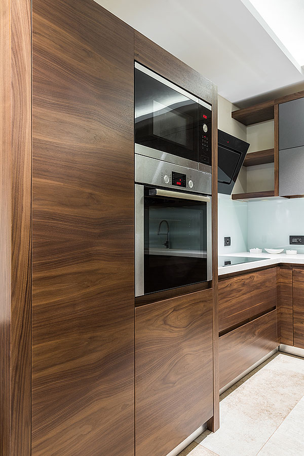 New kitchen in luxury home